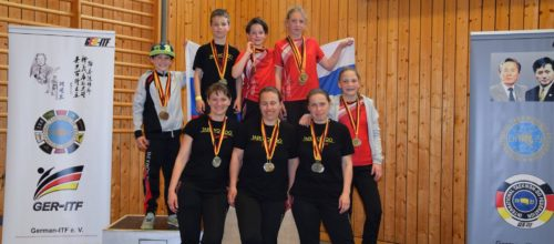 Big success on 2nd Open German ITF Championship