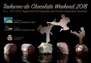 Taekwon-Do Chocolate Weekend 2018